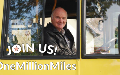 Community transport team targets a million miles.