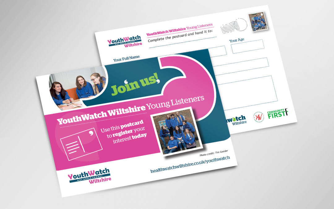 YouthWatch Wiltshire – Print Design