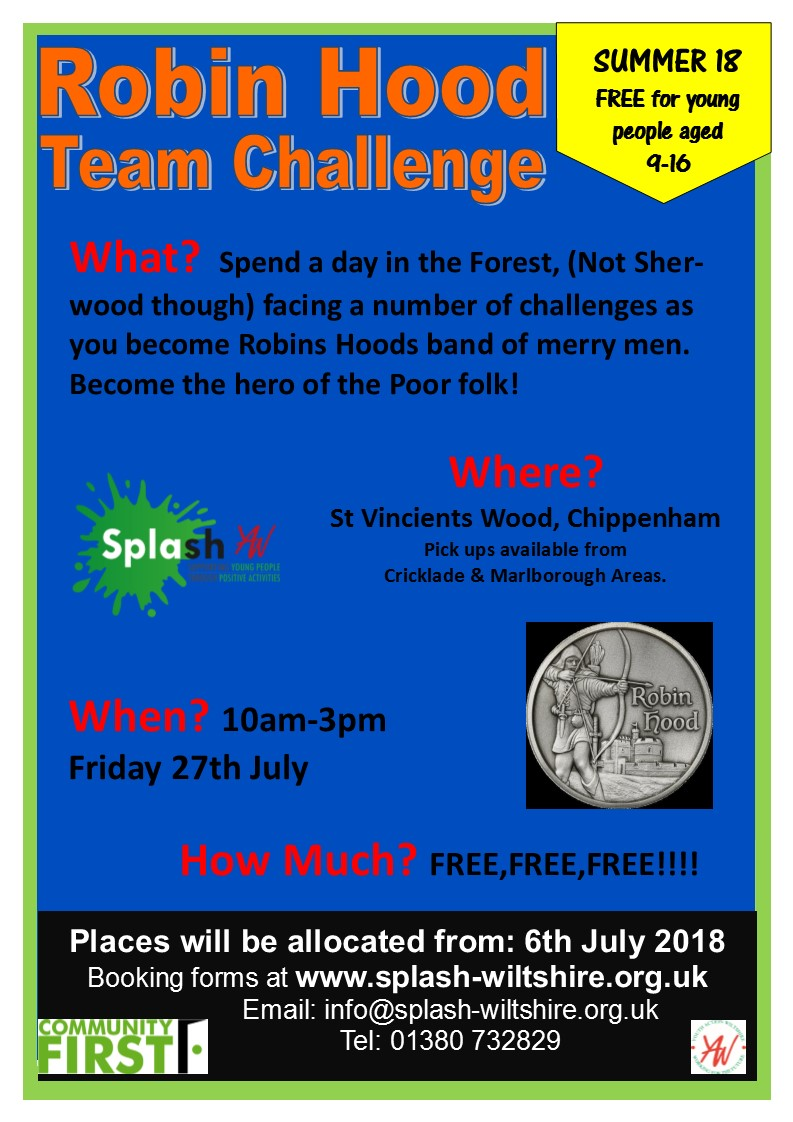Robin Hood Summer 18 - St Vincients - Week1