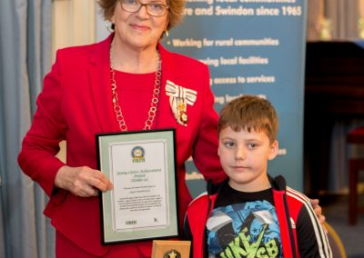 The Young Carers Achievement Award (Under 12)