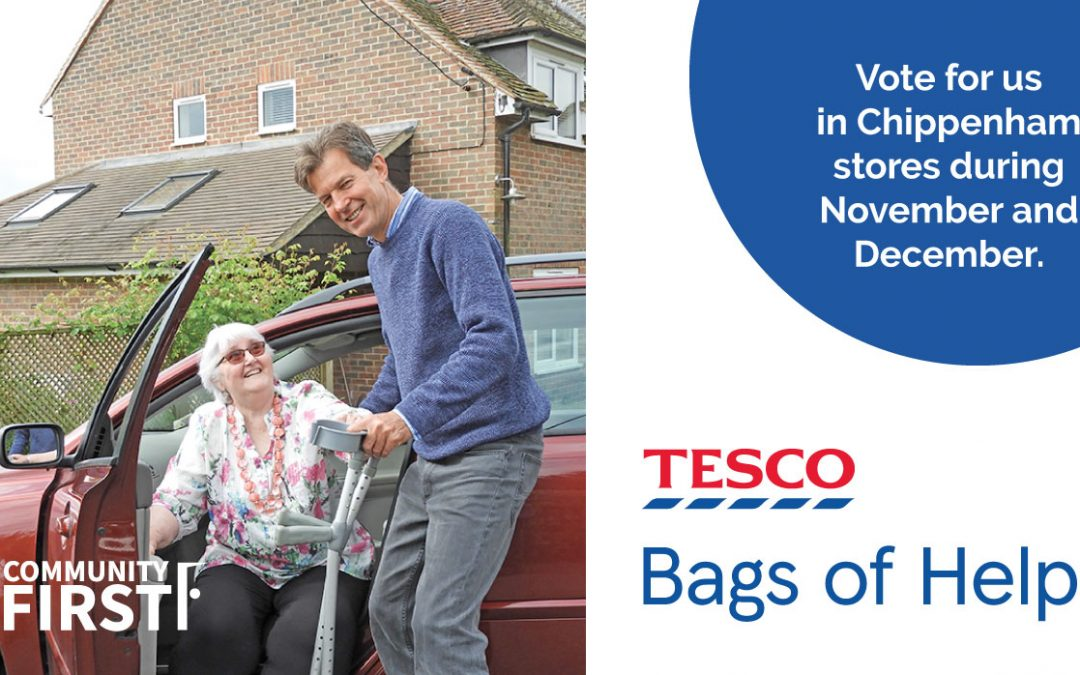 Tesco Bags of Help supports Community Organising project to launch new Volunteer Good Neighbour Schemes.