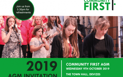 Save the Date: Community First AGM & Awards Celebration 2019