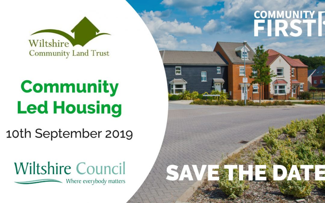 Save the Date: Community-Led Housing Event