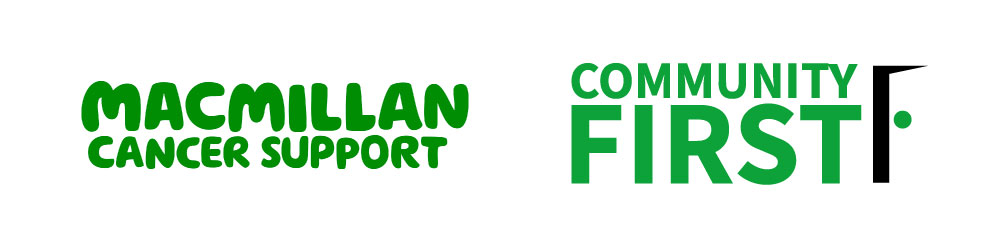 macmillan and community first lock-up logo