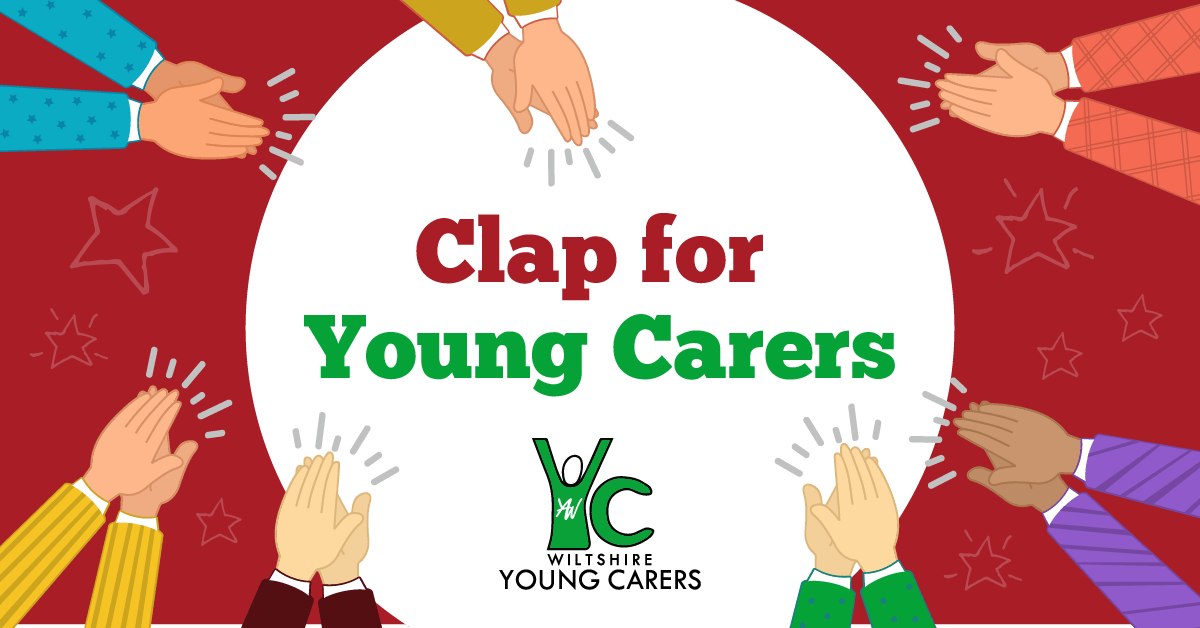 clap for young carers banner