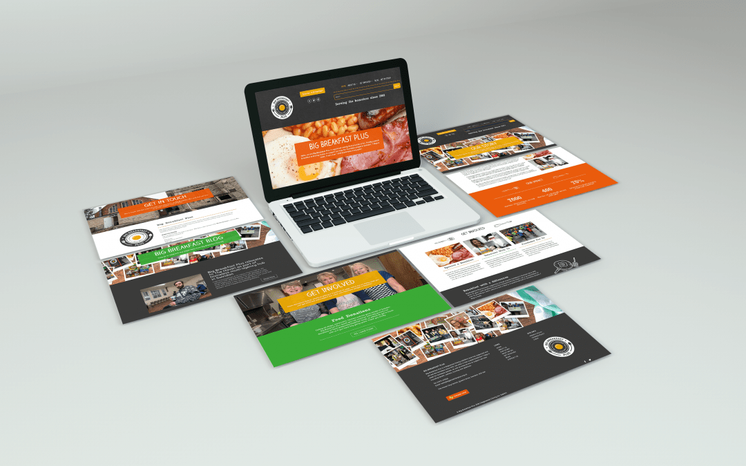 Big Breakfast Plus Website Design