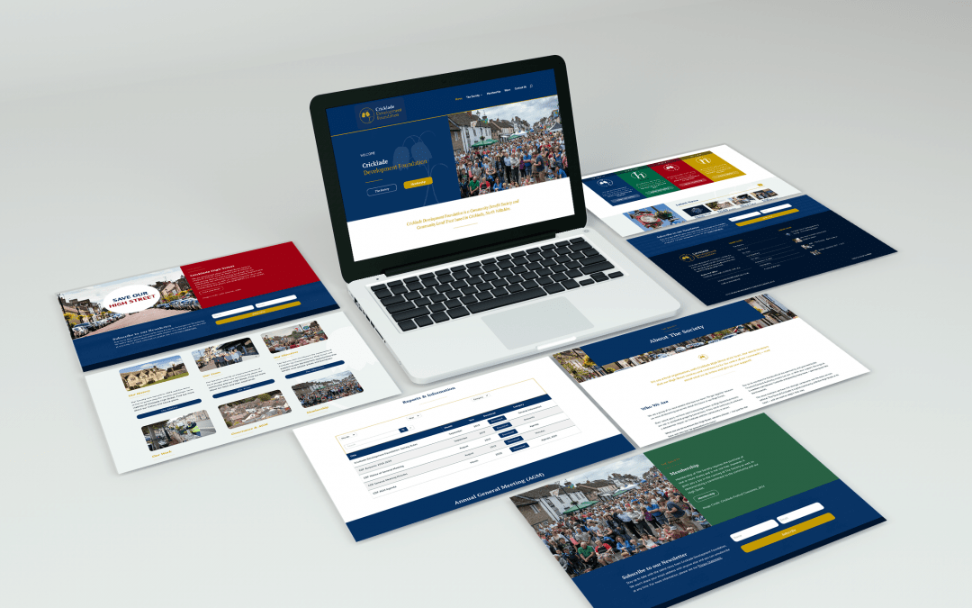 Cricklade Development Foundation Website Design