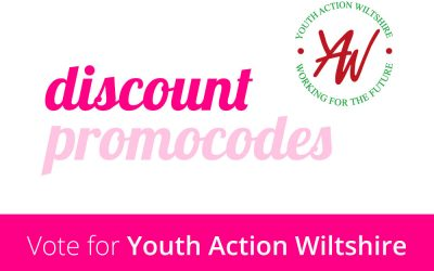 Please cast a vote for Youth Action Wiltshire throughout March