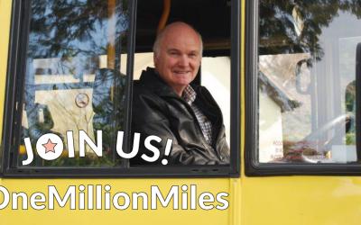 Community transport team targets a million miles.