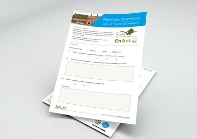 Bold Portfolio WCLT Event Information Pack Print Design