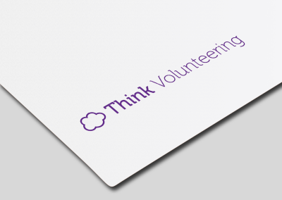 Think Volunteering – Logo Design