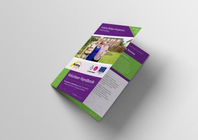 Bold Portfolio Building Bridges Programme Volunteer Handbook Print Design 2