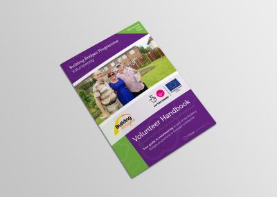Bold Portfolio Building Bridges Programme Volunteer Handbook Print Design 3