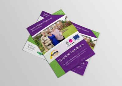 Bold Portfolio Building Bridges Programme Volunteer Handbook Print Design 5