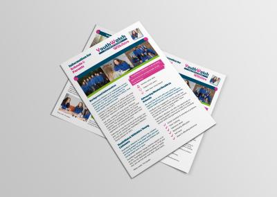 Bold Portfolio information for teachers and parents leaflet 2