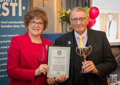 Roger Paye Award Winner 2018