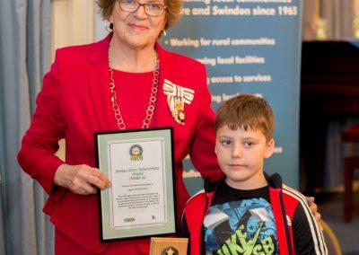 Logan Rymkiewicz Award Winner 2018