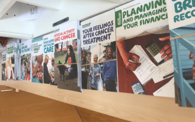 Macmillan Cancer Connections: It's Autumn and change is in the air!