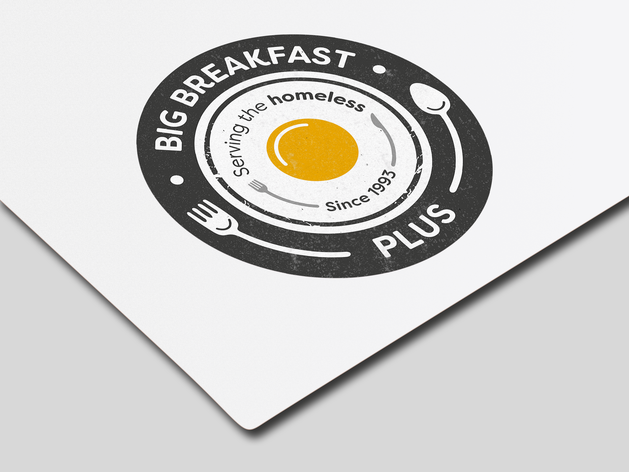 Big Breakfast Plus logo design