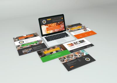 Big Breakfast Plus Website Design