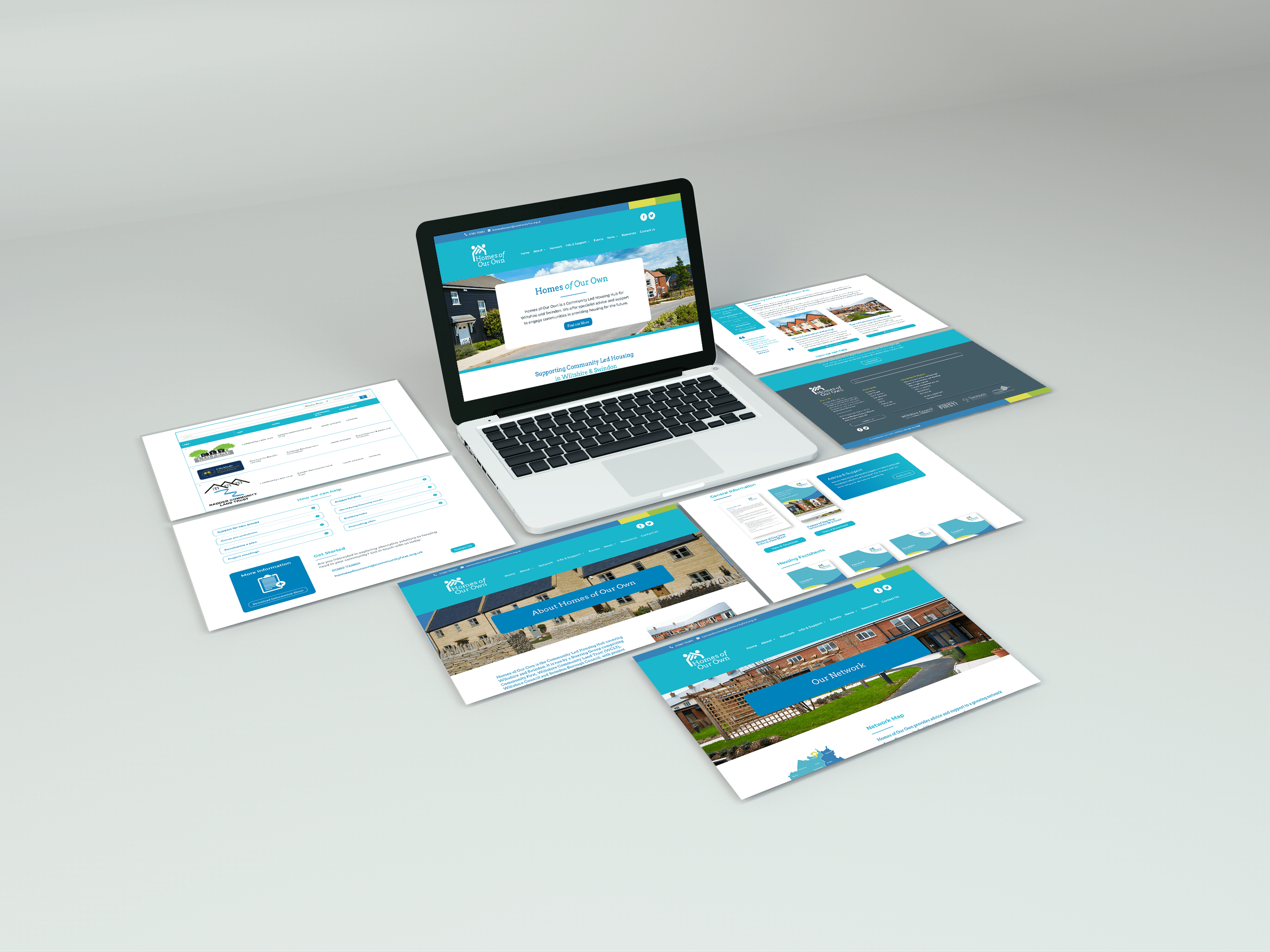 Homes of Our Own Website Design