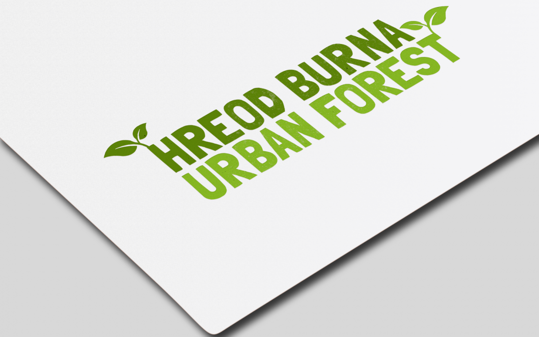 Hreod Burna Urban Forest Logo Design