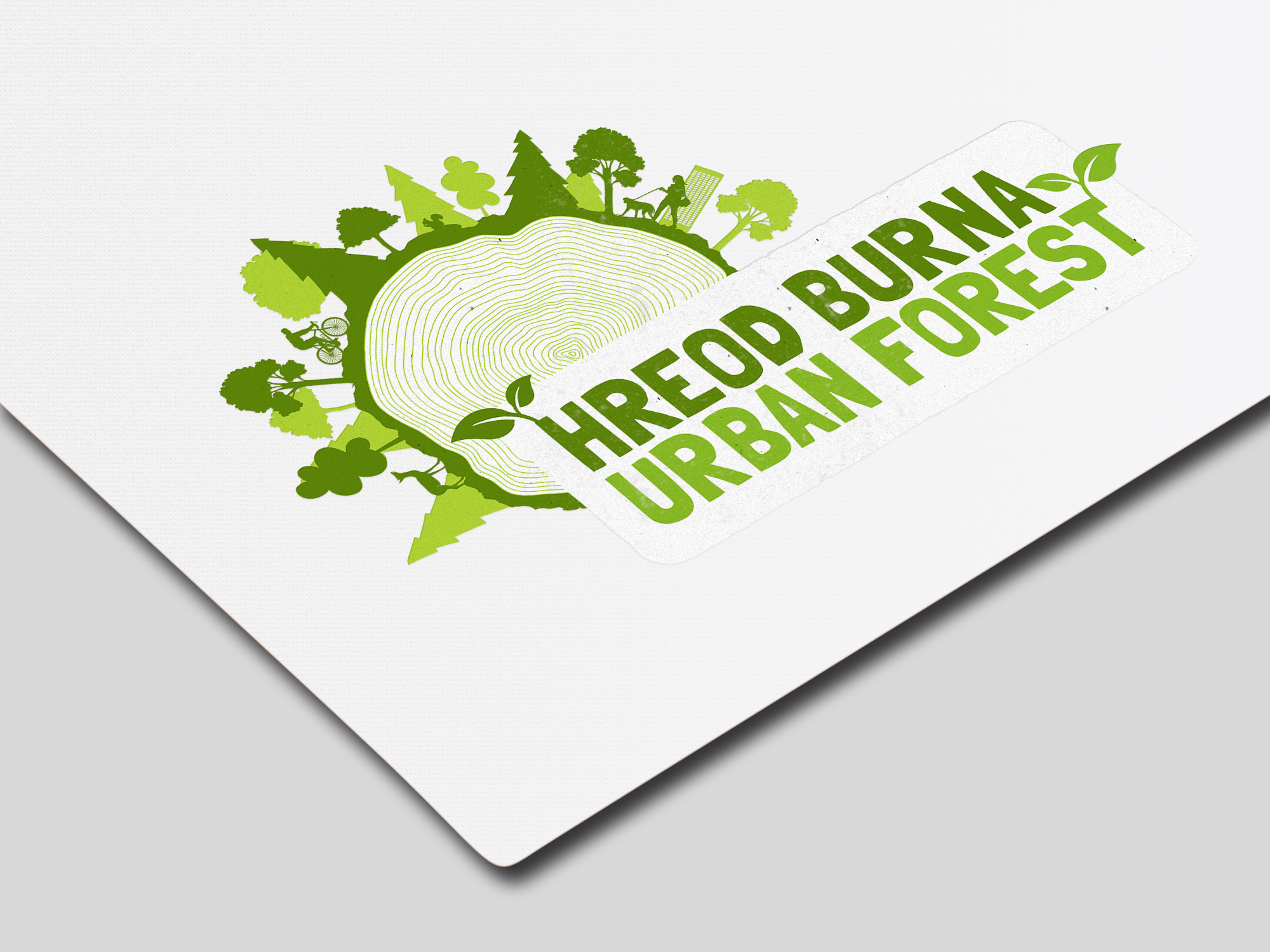 Hreod Burna Urban Forest Illustrated Graphic