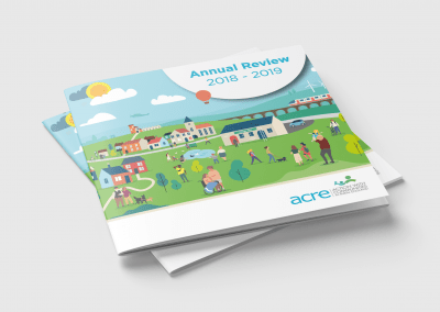ACRE Annual Review Print Design