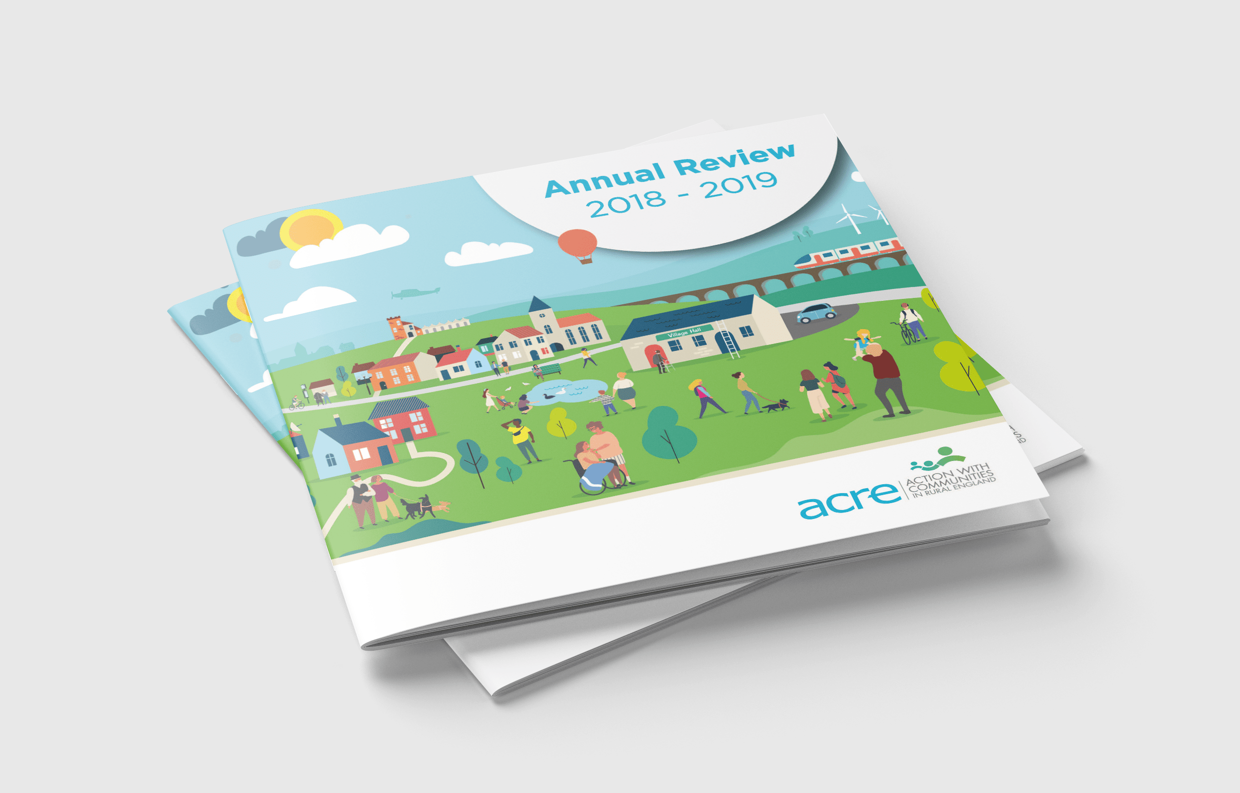 ACRE Annual Review 2018 - 2019 Print Design