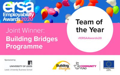 Building Bridges Programme jointly awarded Team of the Year at ERSA Employability Awards 2020