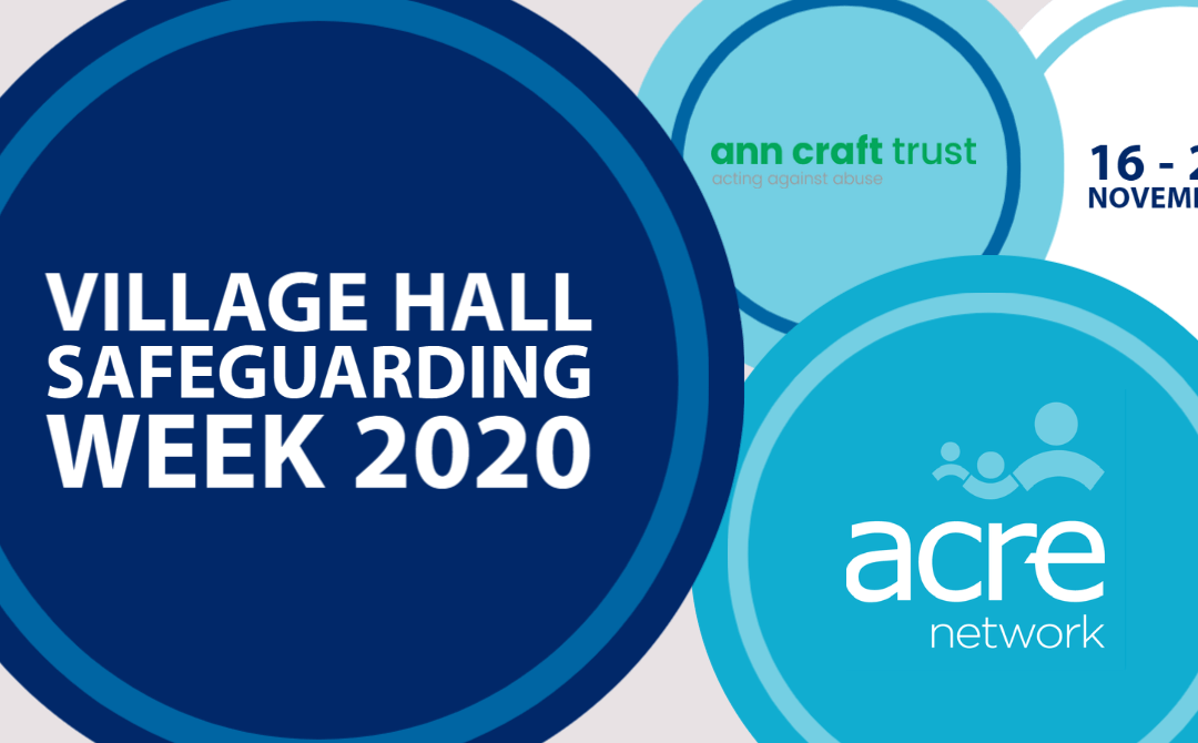 Village Hall Safeguarding Week