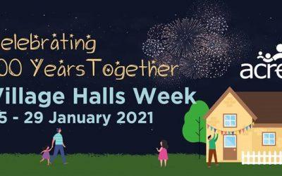 Village Halls Week: 25 – 29 January 2021
