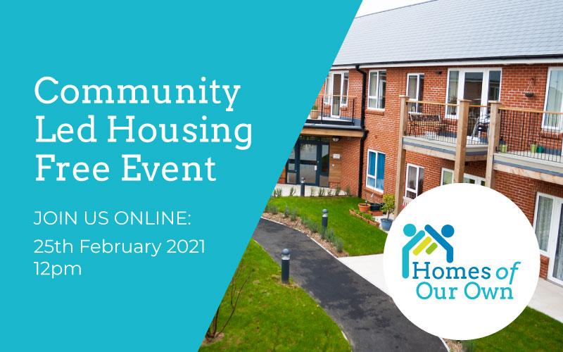 Community Led Housing: Free Virtual Event