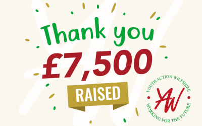 Christmas raffle raises £7,500 in support of Youth Action Wiltshire