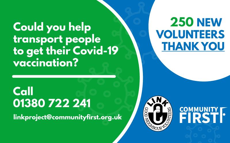 Covid-19 Link Scheme Volunteers - Thank You