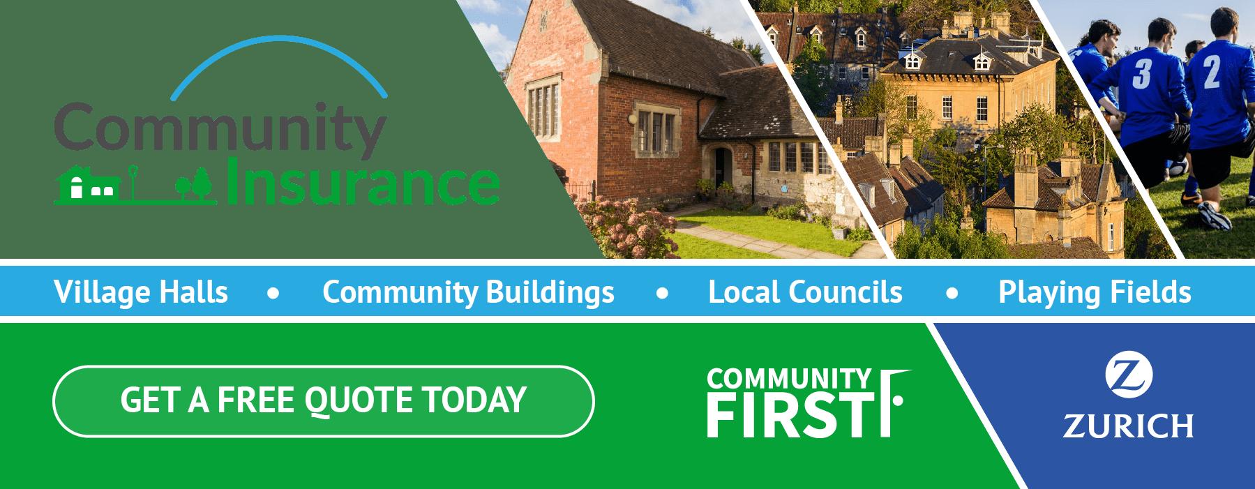 Community Insurance Promotional Banner