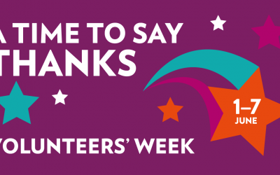 A Time to Say Thank You: Community First Celebrates Volunteers' Week 2021