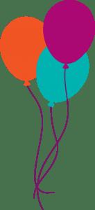 volunteers week balloons