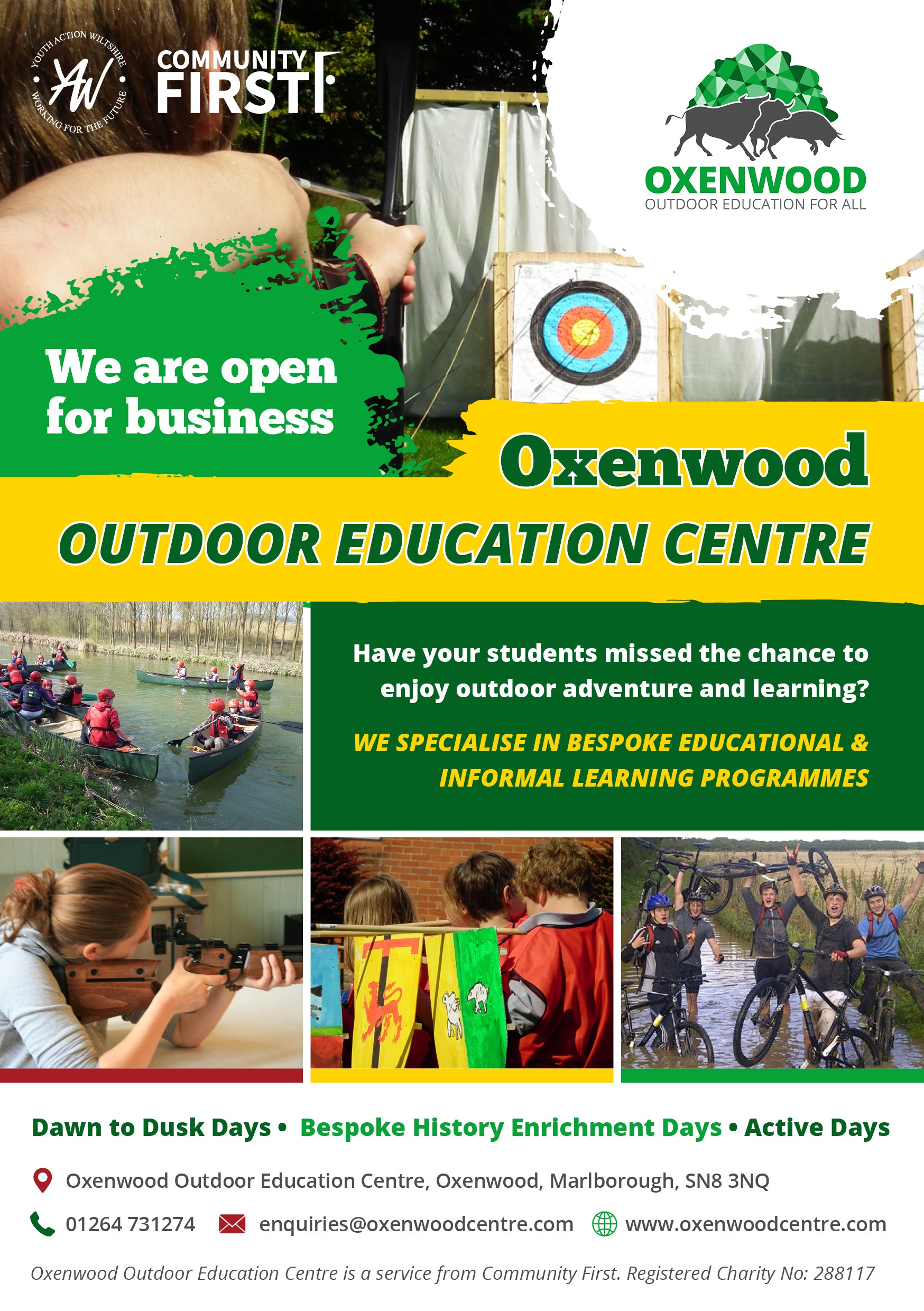 Oxenwood Day Activity Leaflet 2021